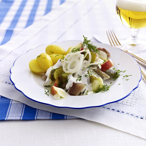 Herring Salad with New Potatoes and Pickles