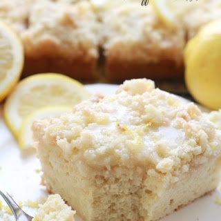 Greek Yogurt Lemon Coffee Cake {gf}