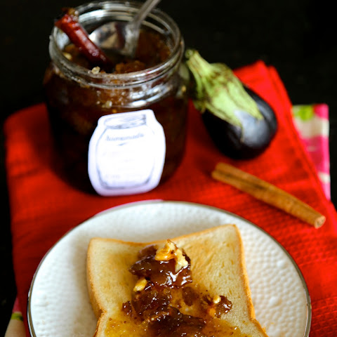 Eggplant and Cinnamon Jam