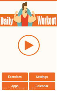 Daily Workouts Plan screenshot for Android