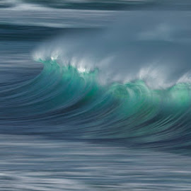 Backlit Beauty by Clive Wright - Landscapes Waterscapes ( water, spray, nature, wave, sea, ocean, seascape, blur, light )