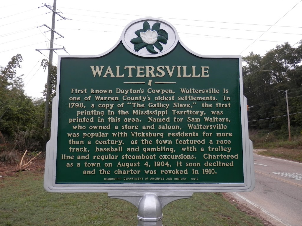 First known Dayton's Cowpen, Waltersville is one of Warren County's oldest settlements. In 1798, a copy of