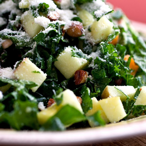 Kale Salad With Apples and Cheddar