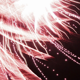 Bright by Savannah Eubanks - Abstract Fire & Fireworks