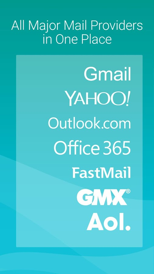 Aqua Mail - Email App Screenshot 1