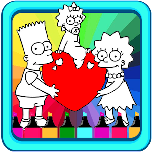 Simsson Coloring Book For PC (Windows & MAC)