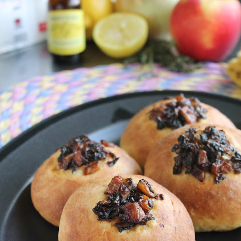 CARAMELIZED APPLE & ONION KOLACHES