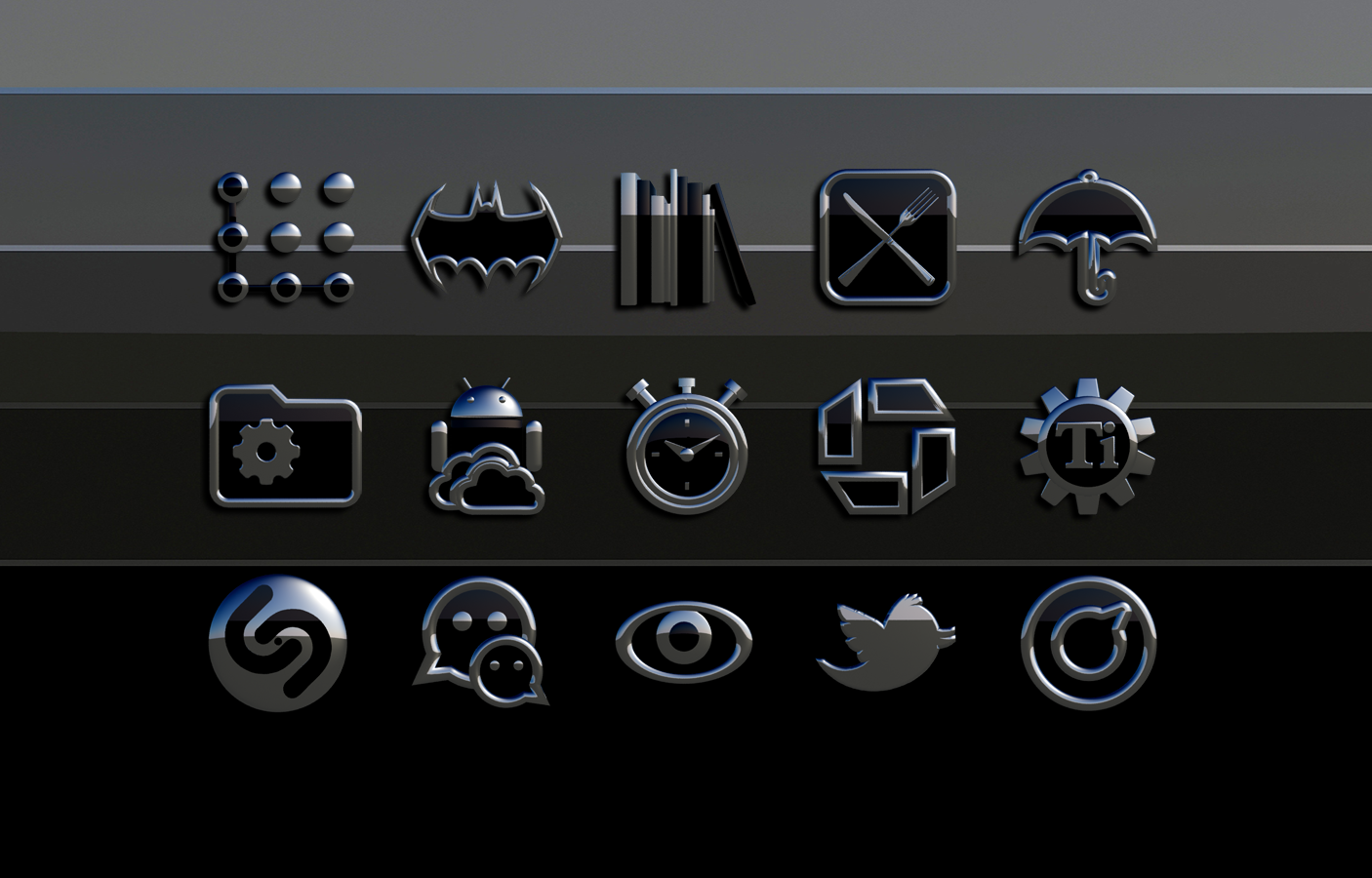 Icon Pack Sakato 3D Screenshot 9