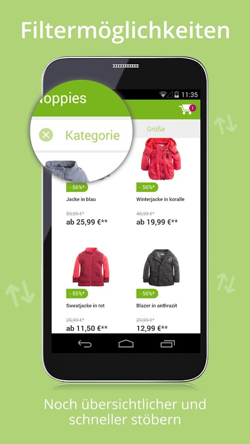 Limango - Familien Shop Screenshot 1