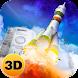 Russia Space Rocket Flight 3D