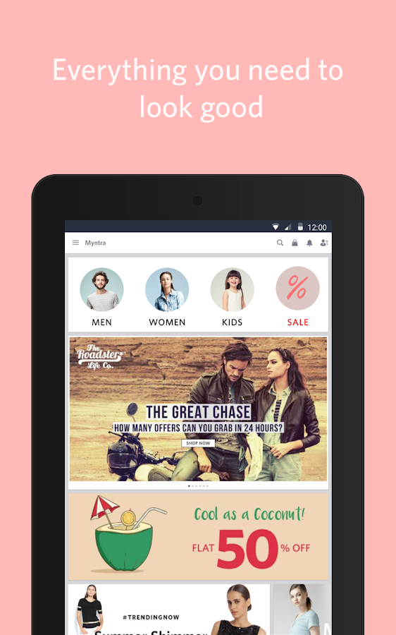 Myntra Online Shopping App Screenshot 10