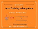 Java Training in Bangalore