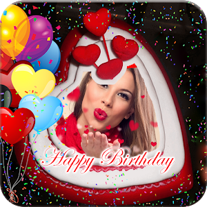 Free Download Birthday Cake Photo Frame APK for Blackberry