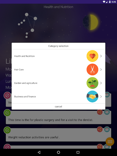 Lunar Calendar - Daily Moon - screenshot