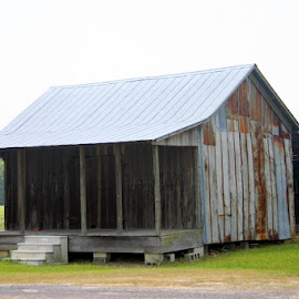 BARN WITH PORCH by Douglas Edgeworth - Buildings & Architecture Architectural Detail