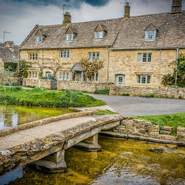 Lower Slaughter, Gloucestershire, UK by Anthony P Morris - Buildings & Architecture Public & Historical ( water, lowerslaughter, anthony morris, watermill, cotswolds, river )