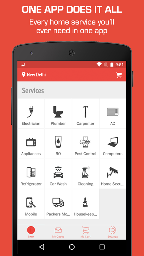 Mr. Right - Home Services App Screenshot