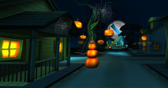 3D Halloween Live Wallpaper - screenshot