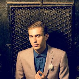 by Michael Last - People Portraits of Men ( model, boston, modeling, outdoors, portrait meet )