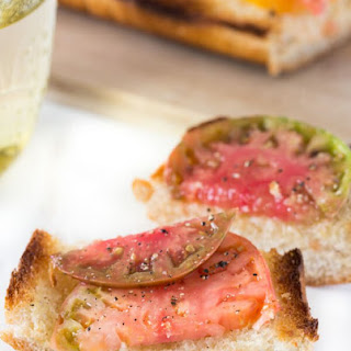 Heirloom Tomato French Bread