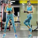 Latest Design Fashionable Two Piece Stylish Yoga Wear High Quality Womens Gym Singlet