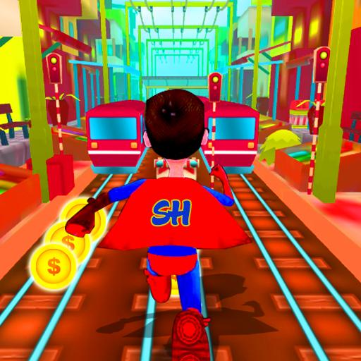 Super Hero Rail Rush Simulator (game)
