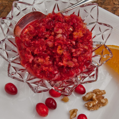 Easy Cranberry-Orange-Apple-Walnut Relish