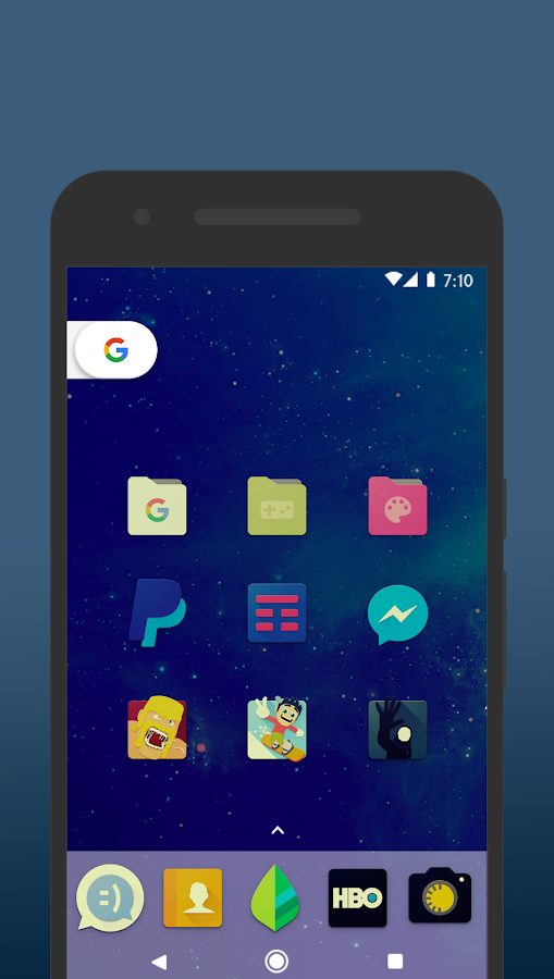 Nucleo Vintage - Icon Pack Screenshot 3
