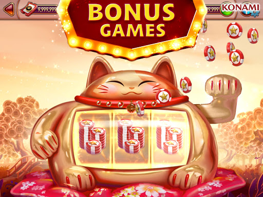 my KONAMI Slots - Free Vegas Casino Slot Machines screenshot 9