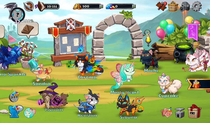 Castle Cats:  Idle Hero RPG Screenshot 5