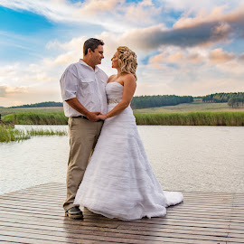 by Francois Janse van Vuuren - Wedding Bride & Groom ( #firesphotography #weddingphotographer )