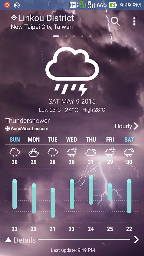 ASUS Weather Screenshot 7