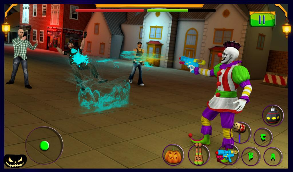 Scary Clown : Halloween Night Screenshot 11