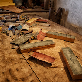 Old Work Place by Isaac Gershon - Artistic Objects Antiques ( natural light, old, wood, colorful, mood, handmade, workplace, picture the magic, places, colorfull, beauty, drama, epic, color, emotions, artistic, dramatic, artistic object, artistic objects, objects, antique, the mood factory, natural, light )