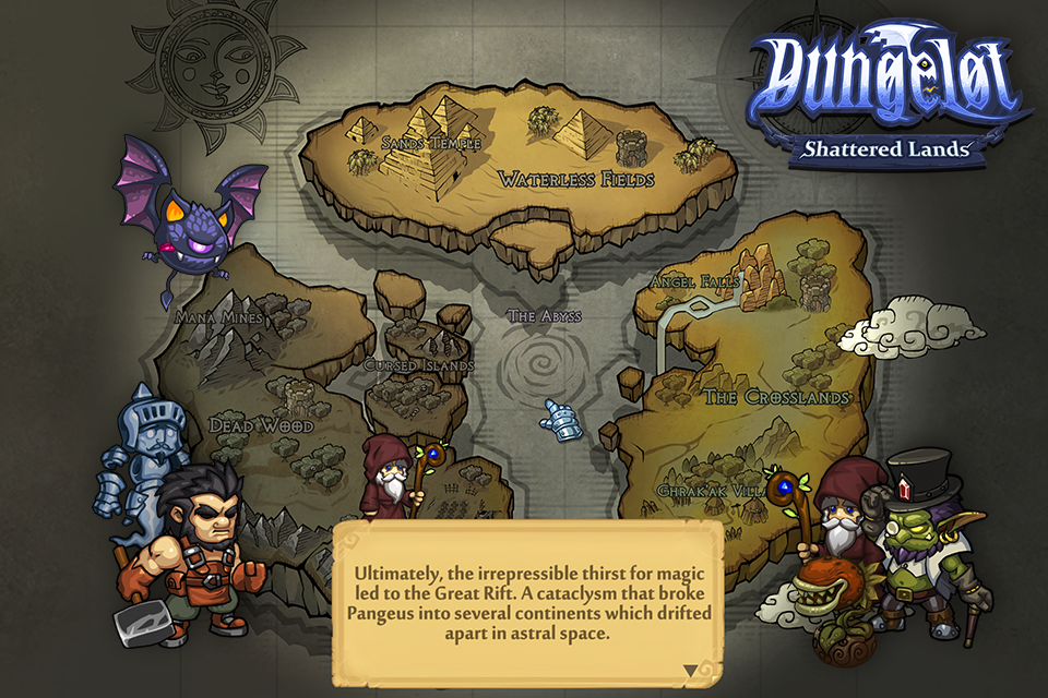 Dungelot Shattered Lands Screenshot 0