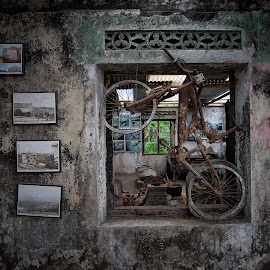 motorcycle by Wartono Wartono - Artistic Objects Still Life