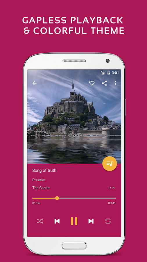 Pulsar Music Player Pro Screenshot 1