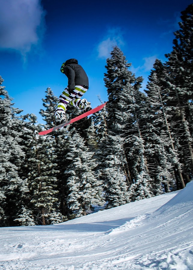 Catching Some Air by Jay Woolwine Photography - Sports & Fitness Snow Sports ( snowboard, ski, snow summit, action )