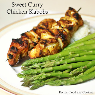 Grilled Curry Chicken Kabob Recipes
