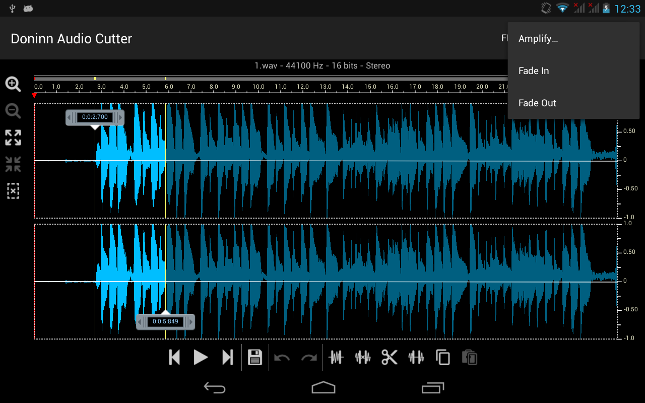 Doninn Audio Cutter Screenshot 17