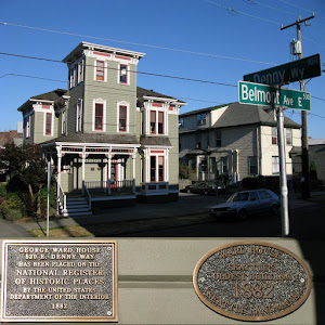(Marker 1) Ward HouseSeattle's Oldest Building1882Seattle Landmark (Marker 2) George Ward House520 E Denny Wayhas been placed on theNational Registerof Historic Placesby the United StatesDepartment ...