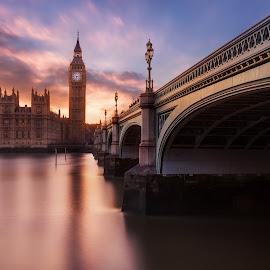 by Richard  Harris - Buildings & Architecture Bridges & Suspended Structures ( westminster bridge )