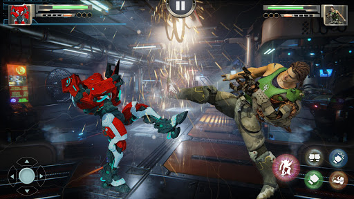 Real X-Ray Robot Fighting Game screenshot 4