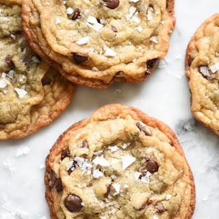 Milk Bar's Salted Chocolate Chip Cookies
