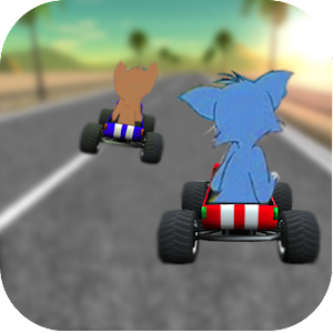 race cat and jerry Icon