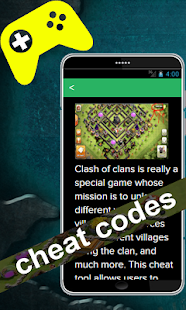 Cheats for Clash of Clans - screenshot
