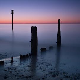 Influence by Simon Talbot-Hurn - Landscapes Beaches ( water, dawn, nature, sunset, suffolk, landscape photography, long exposure, sunrise, beach, nikon, landscape )