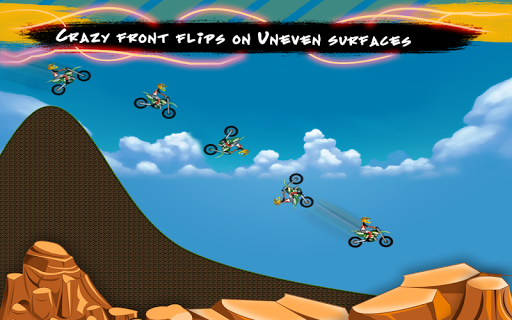 Hill Bike Stunts: Crazy Racing - screenshot