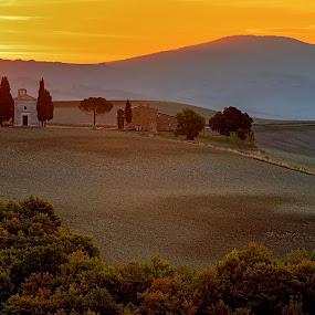 Vitaleta by Eric Niko - Landscapes Mountains & Hills ( vitaleta, val d'orcia,  )