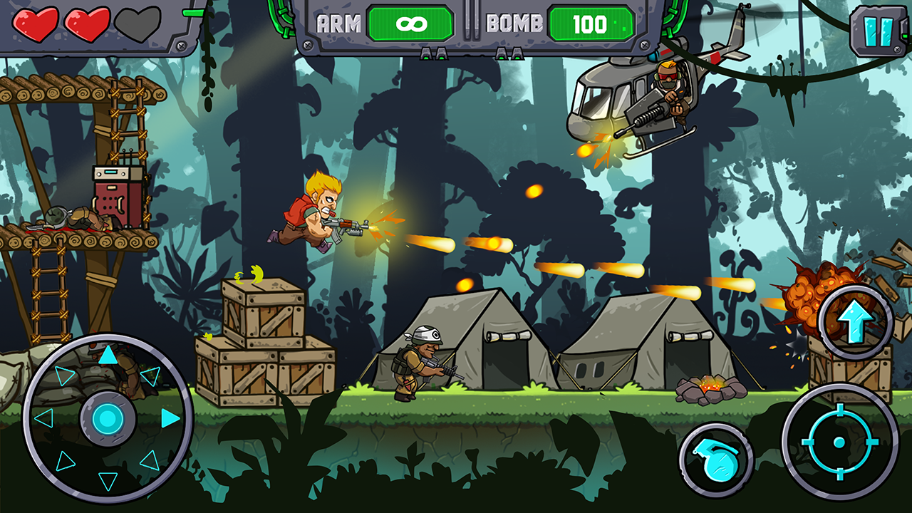 Metal Shooter: Super Soldiers Screenshot 1